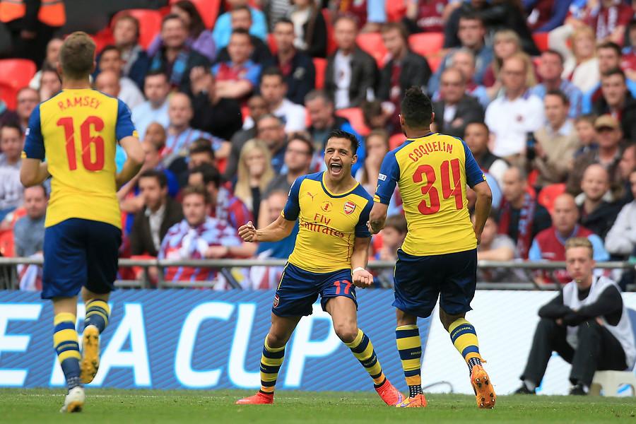 VIDEO | Gol de Alexis Sánchez fue elegido como uno de los mejores de la década en la FA Cup