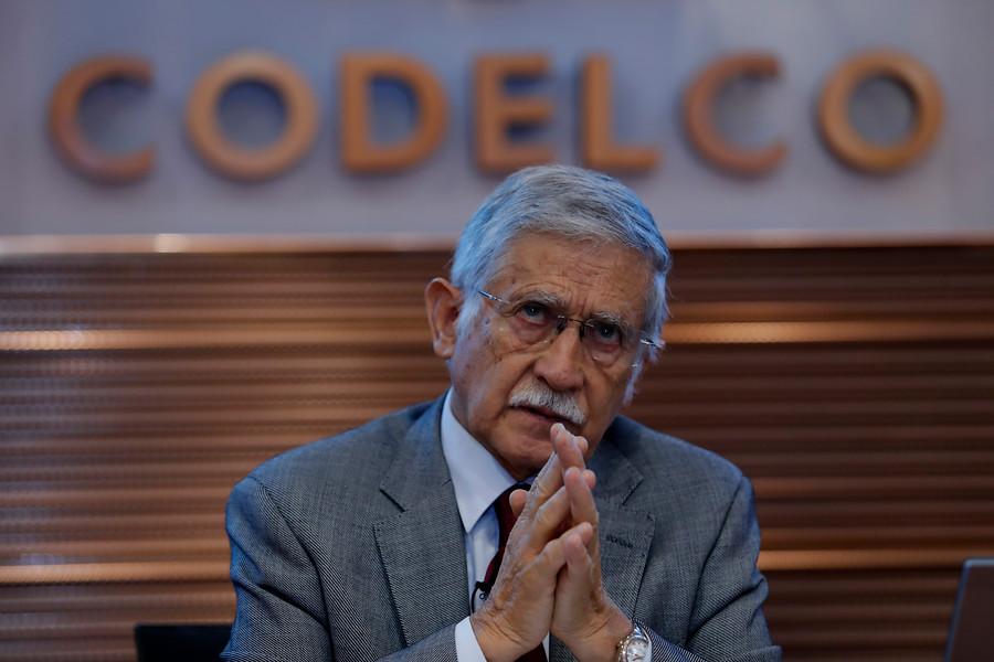 Codelco se querella contra Nelson Pizarro por tráfico de influencias
