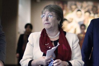 Michelle Bachelet reacciona a informe ONU sobre derechos humanos en Chile