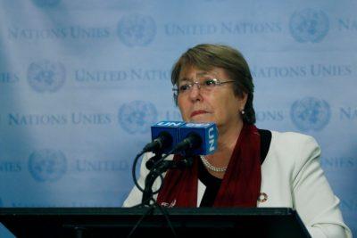 Increpan a Michelle Bachelet durante participación en la COP25