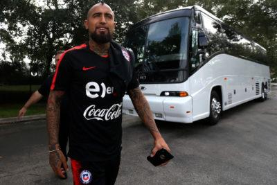 Arturo Vidal aparece nuevamente en la órbita del Manchester United