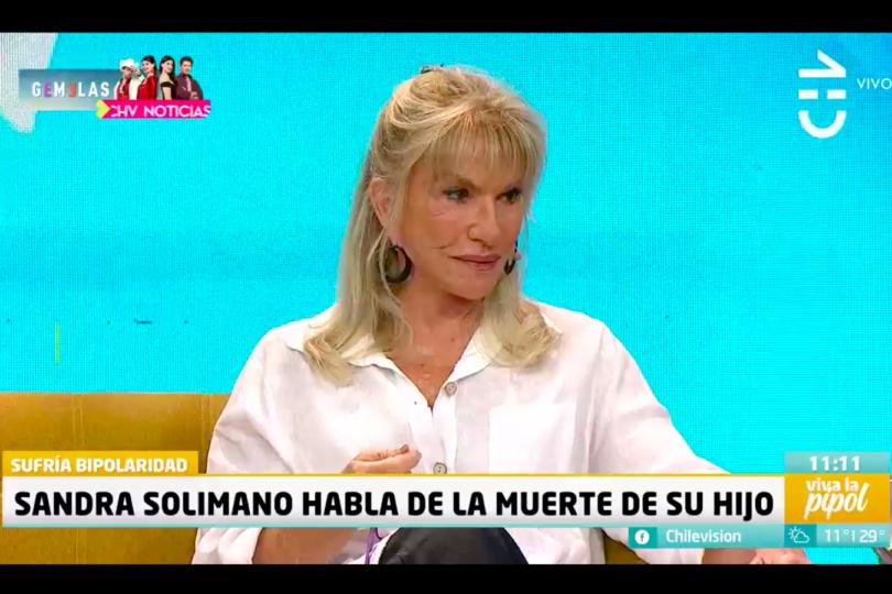 """""""Él se cansó de luchar"""": Sandra Solimano habló por primera vez de la muerte de su hijo Eduardo Mujica"""