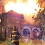 """""""Casa Italia"""": monumento histórico resultó destruido por incendio en Viña del Mar"""