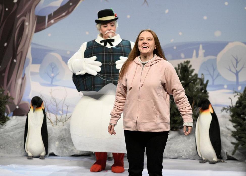 Mira la imitación a Greta en SNL