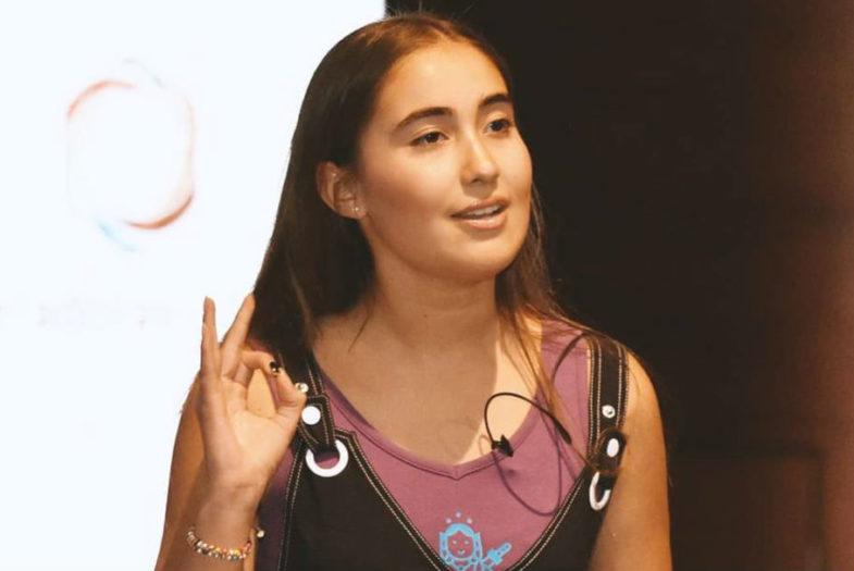"""Julieta Martínez desde la COP25: """"Ahora es momento que los jóvenes tengamos voto y estemos en la mesa con autoridades"""""""