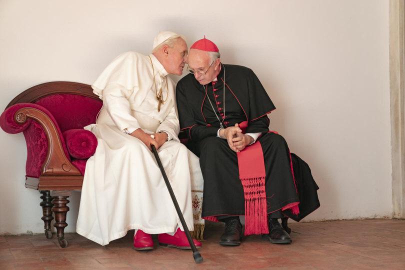 """""""Los dos papas"""": la película que aborda la relación entre Benedicto XVI y Francisco"""
