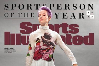 Eligen a Megan Rapinoe como la Deportista del Año