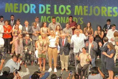 """Christiane Endler y Joaquín Niemann reciben el premio """"Mejor de los Mejores"""" 2019"""