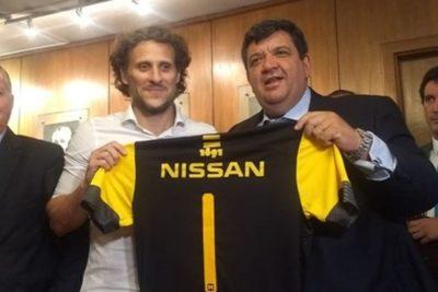 Diego Forlán es oficializado como nuevo entrenador de Peñarol