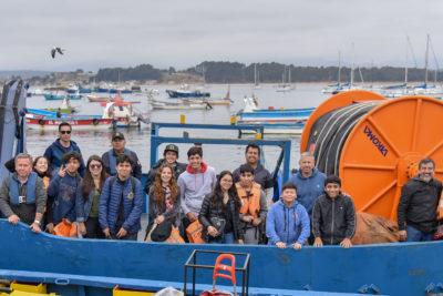 Escolares se internan en las operaciones de la Bahía de Quintero y en el terminal petrolero más importante del país