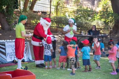 Navidad llega a jardines infantiles de Junji e Integra