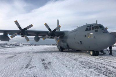 Audio de supuesto pasajero de Hércules C-130 se suma a investigación