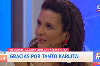 """""""Por fin descubrí lo que quiero hacer"""": Así fue la despedida de Karla Constant del Mucho Gusto"""