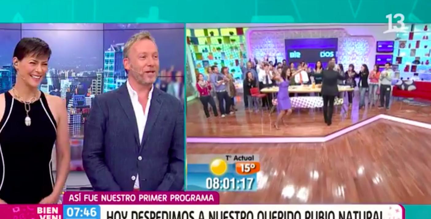 """""""Siento que es mi casa"""": las palabras de Martín Cárcamo al iniciar su último día en el Bienvenidos"""