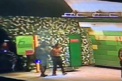 VIDEOS | Carabineros detuvo a sujetos que intentaban robar TV de estación Barrancas