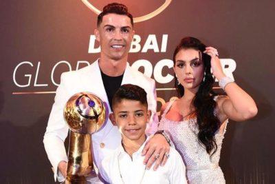 Cristiano Ronaldo es elegido como el mejor jugador del año en los Globe Soccer