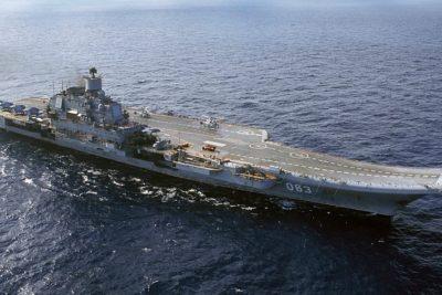 Al menos 10 heridos deja un incendio en el único portaaviones de Rusia