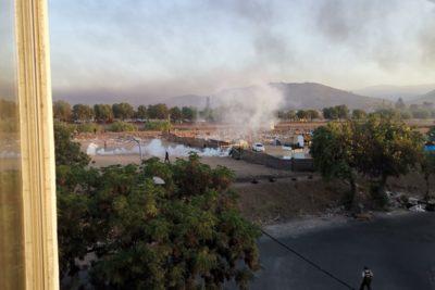 El drama de las familias que fueron desalojadas de campamento de Cerro Navia