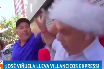 VIDEO  José Miguel Viñuela vivió intento de agresión durante despacho del Mucho Gusto