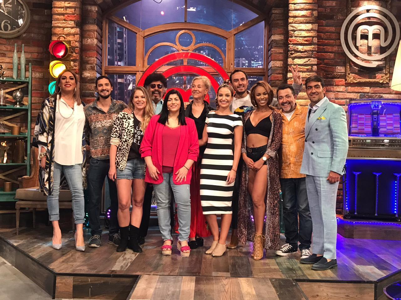 Canal 13 dio el vamos a MasterChef Celebrity