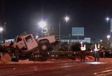 VIDEO |Fatal accidente en Vespucio Norte: camioneta iba a exceso de velocidad y en contra del tránsito