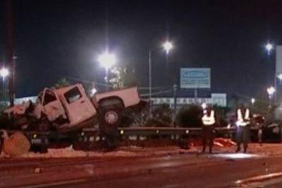 VIDEO  Fatal accidente en Vespucio Norte: camioneta iba a exceso de velocidad y en contra del tránsito