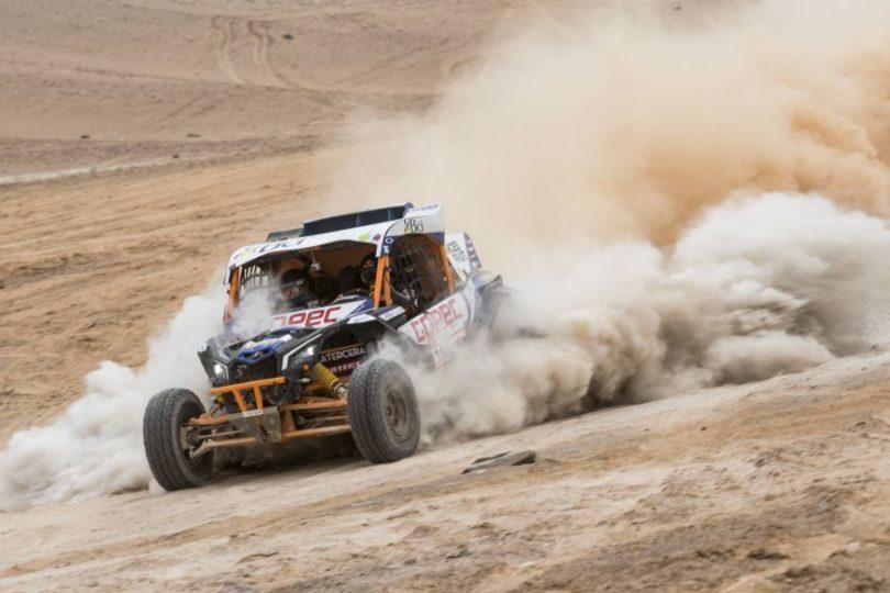 Chaleco López es quinto en etapa 9 y se aleja del liderato en el Dakar