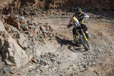 Pablo Quintanilla fue subcampeón del Dakar 2020 en la categoría motos