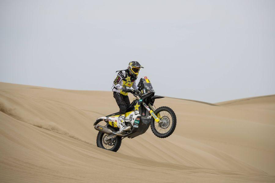 Dakar 2020: Pablo Quintanilla puso a punto su moto y aprueba verificaciones