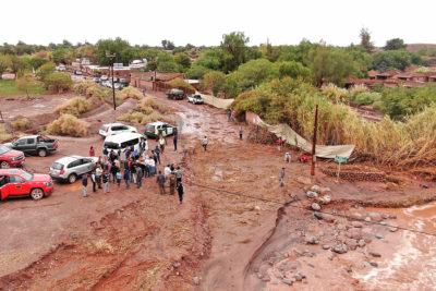 Alerta Amarilla para El Loa, Tocopilla, Antofagasta y Sierra Gorda por lluvias