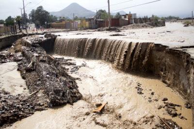 Alerta amarilla por lluvias en sector cordillerano de Arica y Parinacota