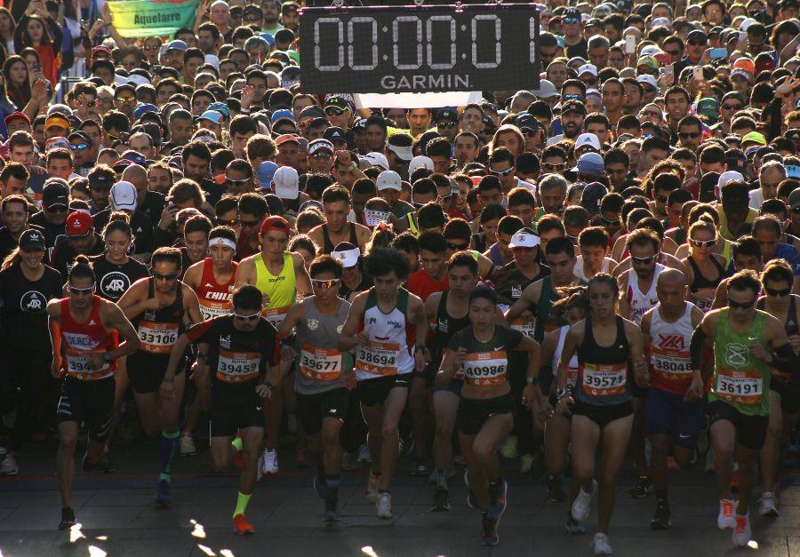 Maratón de Santiago fue aplazada para mayo por el plebiscito