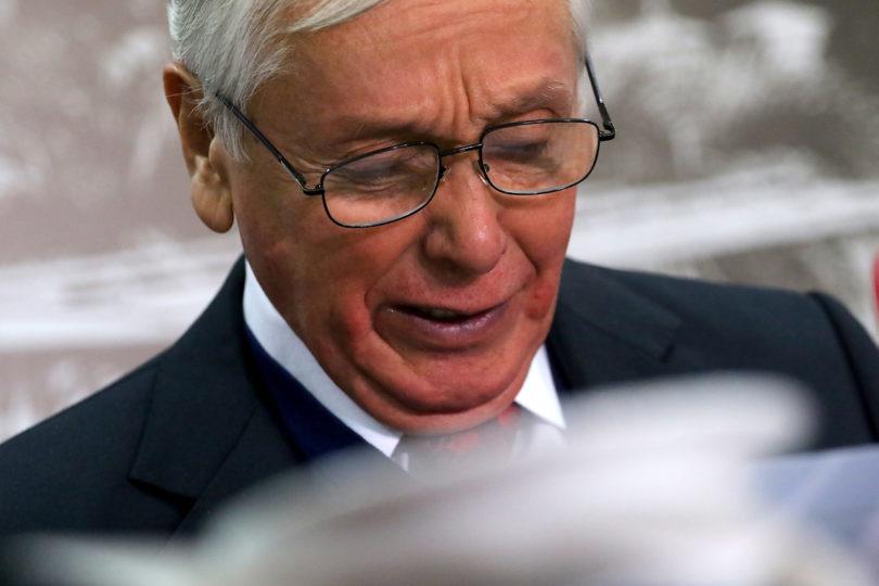 Ex obispo Eduardo Durán fue víctima de millonario robo: delincuentes se hicieron pasar por carabineros