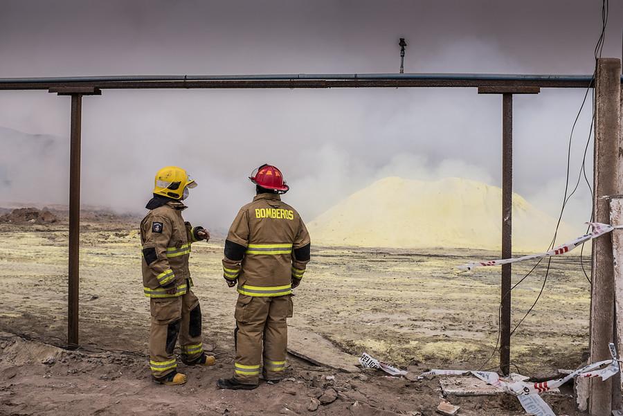 Incendio en vertedero de Alto Hospicio mantiene en alerta a las autoridades