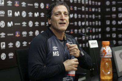 Mario Salas confirma baja de Esteban Paredes para el duelo de Copa Chile