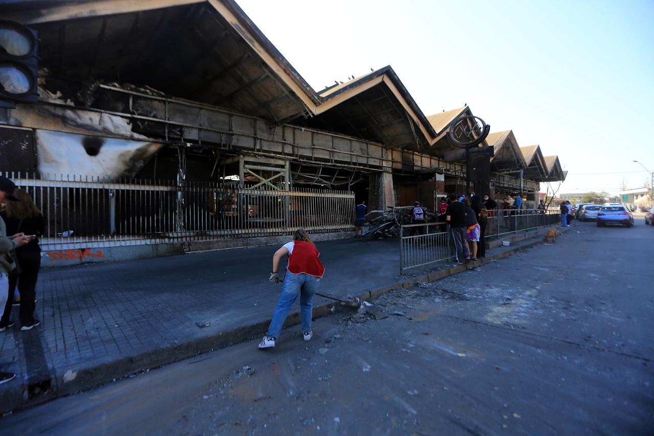 """""""Detienen a sospechosos de incendio en estación San Pablo del Metro"""""""