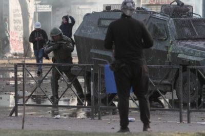 Gobierno se querelló por ataque a un carro policial en Antofagasta