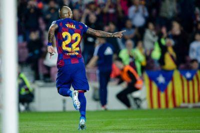 Prensa española destacó rendimiento de Arturo Vidal en Supercopa