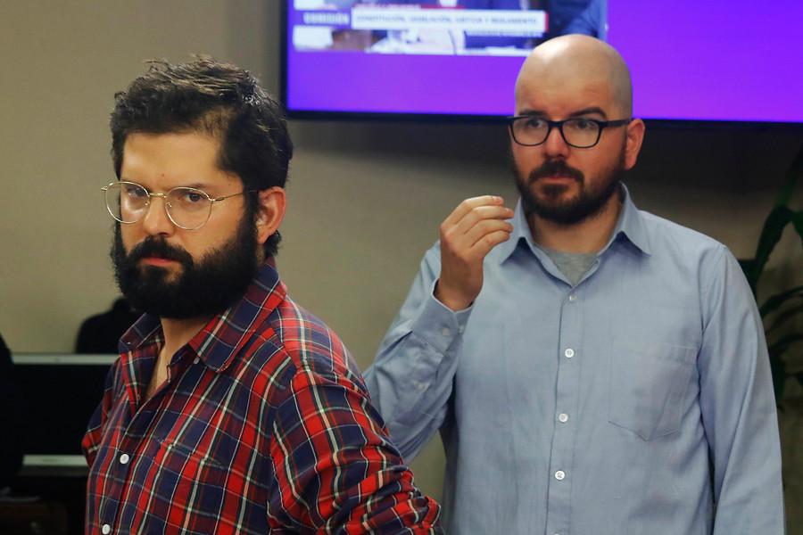 Boric y Jackson descartan firmar carta de apoyo a Hugo Gutiérrez