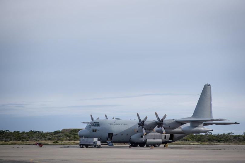FACh entregó a Fiscalía audio que da cuenta de falla en Hércules C-130