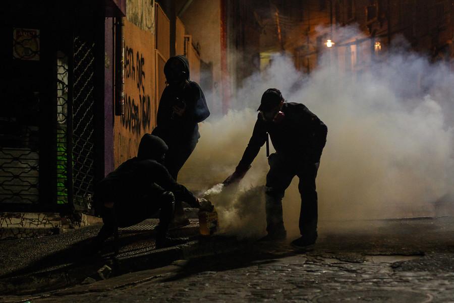 """""""Joven perdió visión en un ojo durante manifestaciones en Valparaíso en Año Nuevo"""""""