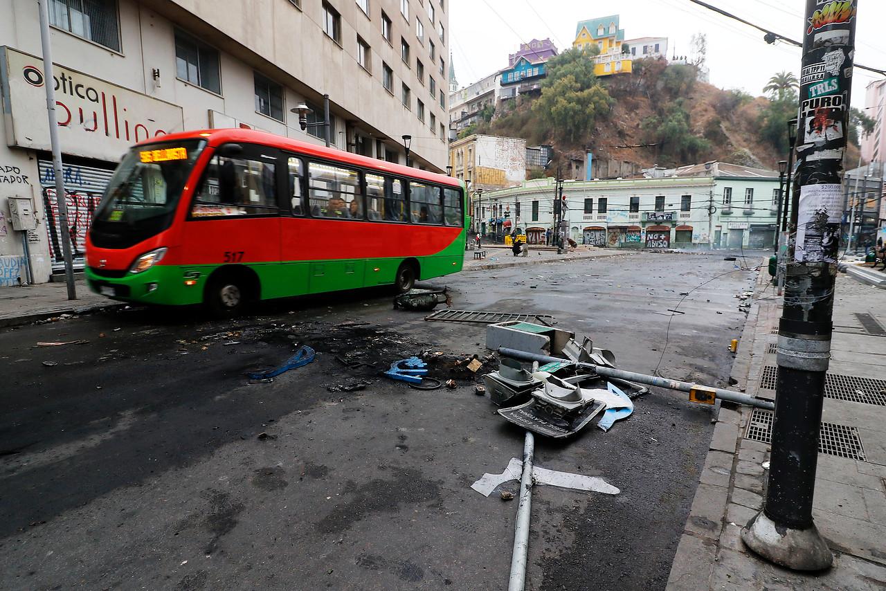 Valparaíso registró menor cantidad de basura tras celebración de Año Nuevo