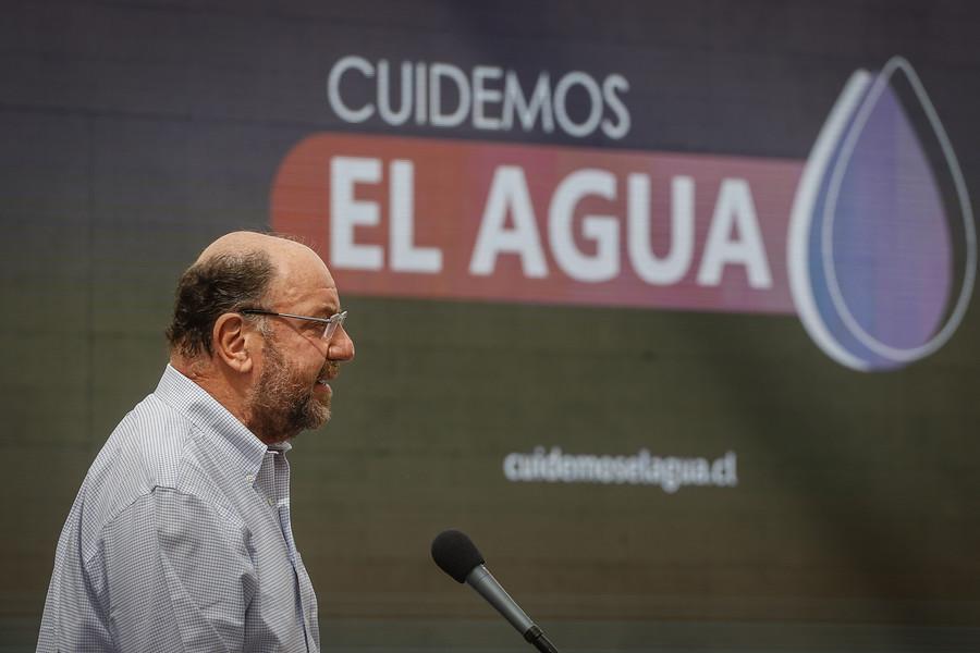 """""""Chile se está secando"""": Gobierno lanza campaña por el uso eficiente del agua"""