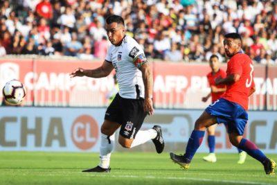 Copa Chile: Esteban Paredes viajará con Colo Colo para el duelo con la U