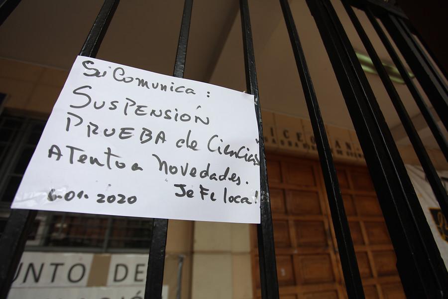 """ACES mantendrá movilizaciones: """"Nos vamos a tomar las sedes donde se rinde la PSU"""""""