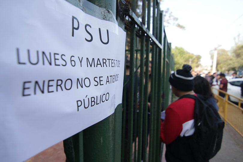 Unicef dice que suspensión de la PSU vulnera el derecho de la educación de los jóvenes