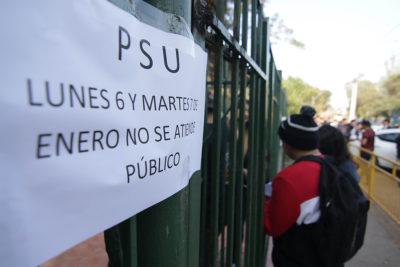 PSU: Demre informó que pruebas ya rendidas este lunes y martes son válidas