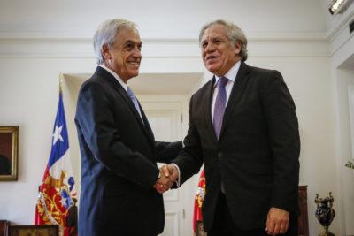 Secretario general de la OEA defiende gestión de Piñera durante el estallido social