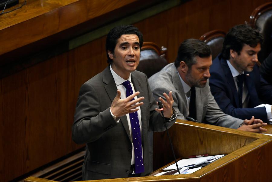 """Briones apela a """"reformismo realista"""" para responder a demandas sociales en interpelación"""
