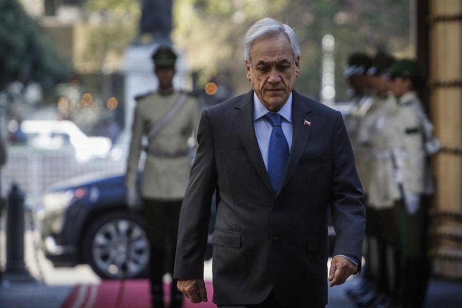 """""""Piñera y los resultados de la CEP:"""